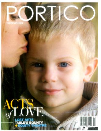 CET in Portico magazine, February 2008 (cover)