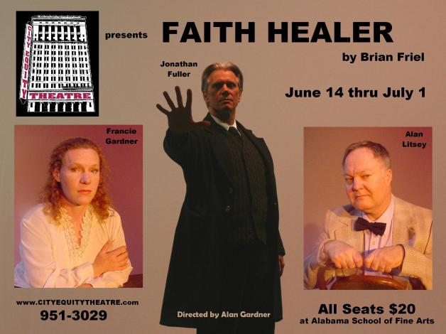 "Postcard, ""Faith Healer,"" by Brian Friel"