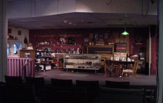 Ed Gurney's set, Playhouse