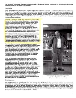"Birmingham Weekly cover story, ""Sweat Equity,"" by Glenny Brock, May 25 2006 (2 of 3)"