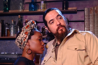 Mr. Harari (Lito Tamez) and Josephine (Shronda Major)