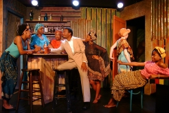 Emeline (Ebonee Christina Johnson), Mama Nadi (Chalethia Williams), Sophie (Emana Rachelle), Christian (Cecil Washington, Jr.), Josephine (Shronda Major), KeKe (Markeitra Gilliam), Mazima (Whitney Ashante McWilliams)