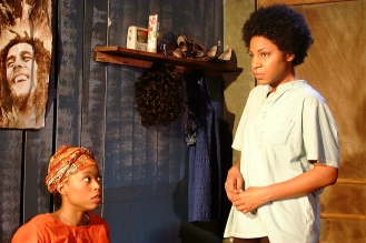 Sophie (Emana Rachelle) and Salima (Danye Brown)