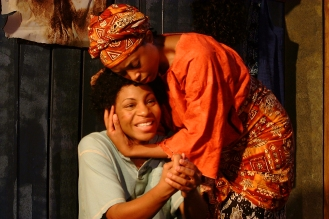 Salima (Danye Brown) and Sophie (Emana Rachelle)