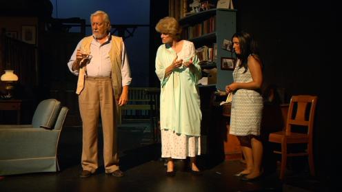 Ron Dauphinee (Beverly), Sandra Taylor (Violet), Jessica Clark (Johnna)