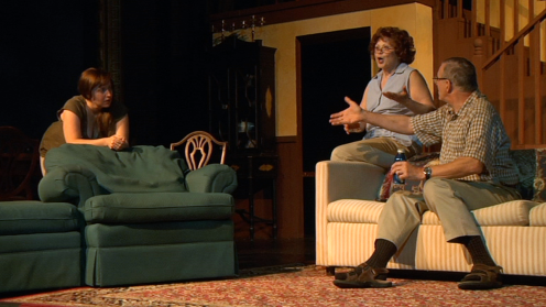 Leah Luker (Ivy), Tam DeBolt (Mattie Fae), Edwin Booth (Charlie)