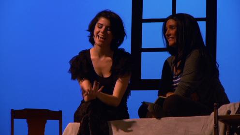 Gracie Brazeal (Jean), Jessica Clark (Johnna)