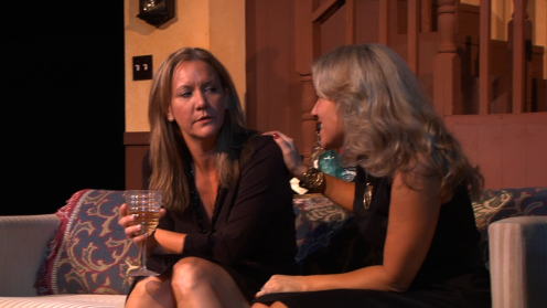 Carolyn Messina (Barbara), Julie Steward (Karen)