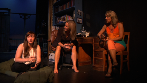 Leah Luker (Ivy), Carolyn Messina (Barbara), Julie Steward (Karen)