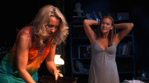 Julie Steward (Karen), Carolyn Messina (Barbara)