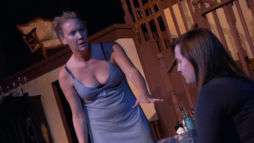 Carolyn Messina (Barbara), Leah Luker (Ivy)